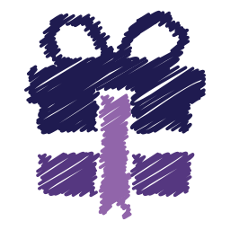box, christmas, free, gift, present, scribble, surprise icon