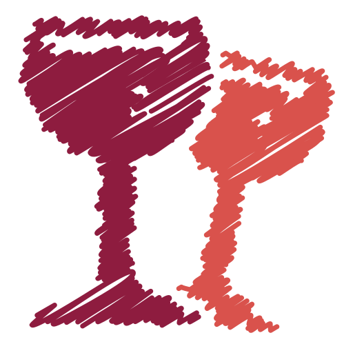 alcohol, beverage, bottle, drink, glass, scribble, wine icon