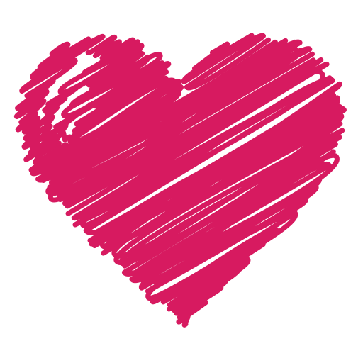 bookmark, favorite, health, heart, like, love, scribble icon