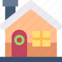 estate, house, cabin, property, real, home icon
