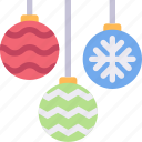 christmas, decor, decoration, occasion, ornament icon