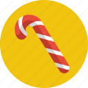 candy, candy cane, candycane, cane, christmas, sweet, treat icon