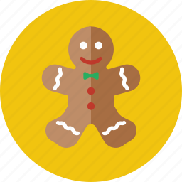 bread, christmas, ginger, gingerbread, gingerbread man, gingerbreadman, xmas icon