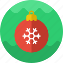 ball, christmas, decoration, ornament, ornaments, tree icon