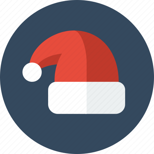 beanie, christmas, hat, santa, santa hat, winter, xmas icon