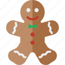 bread, christmas, ginger, gingerbread, gingerbread man, gingerbreadman icon