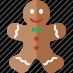 bread, christmas, ginger, gingerbread, gingerbread man, gingerbreadman icon
