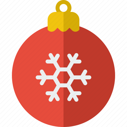 ball, christmas, decoration, ornament, ornaments, snowflake, tree icon