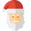beard, christmas, claus, hat, santa, santaclaus, xmas icon