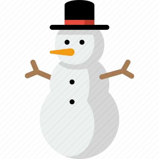 christmas, holiday, snow, snow man, snowman, winter icon