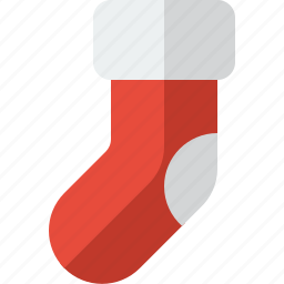 christmas, decoration, sock, stocking, stockings, winter, xmas icon