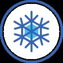christmas, snow, snowflake, xmas, новый год, снежинка icon