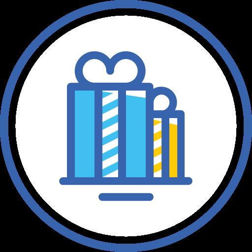 christmas, gift boxes, gifts, xmas, новый год, подарки icon