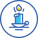candle, christmas, new, year, новый год, свеча icon