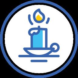 candle, christmas, new, year, новый год, свеча icon