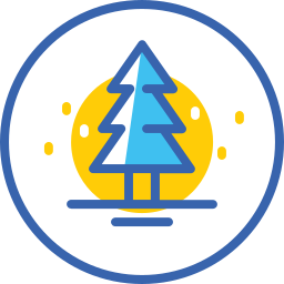 christmas, christmas tree, snow, tree, xmas, новый год icon