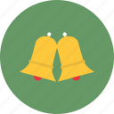 bells, celebration, christmas, decoration, gift, holiday, snow icon