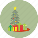 christmas, decoration, holiday, snow, tree, winter, xmas icon