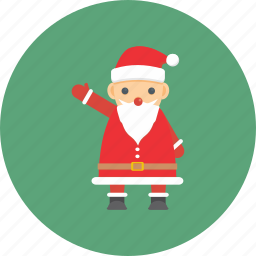 celebration, christmas, claus, decoration, santa, snow, winter icon