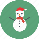 snowman, christmas, cold, decoration, snow, winter, xmas