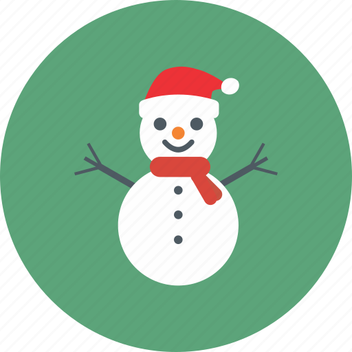christmas, cold, decoration, snow, snowman, winter, xmas icon