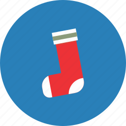 christmas, decoration, footwear, holiday, snow, sock, winter icon