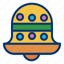 bell, christmas, decoration icon