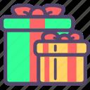 christmas, gift, navidad, present icon