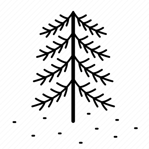 forrest, holiday, pine, pine tree, snow, tree, winter icon