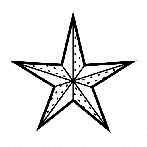 christmas, decor, decoration, holiday, star, winter icon