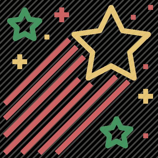 Christmas, raising, star, xmas icon - Download on Iconfinder