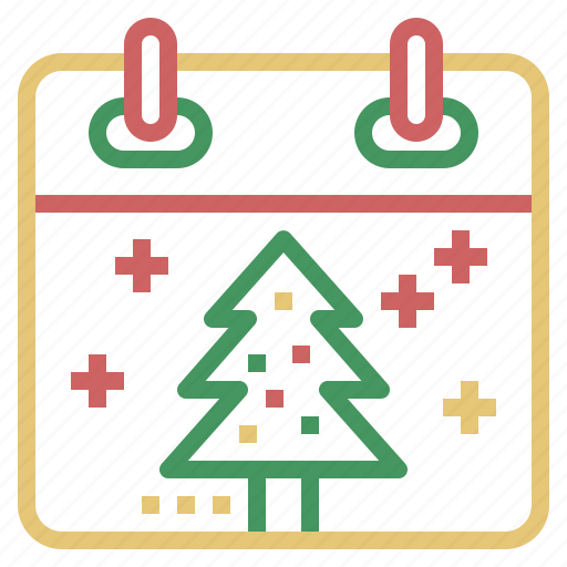 Calendar, celebration, christmas, holiday, winter, xmas icon - Download on Iconfinder