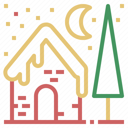 Christmas, house, snow, winter, xmas icon - Download on Iconfinder