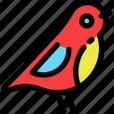 bird, christmas, newyear, toy icon