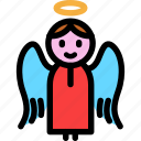 angel, christmas, newyear, saint icon