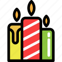 candles, christmas, light, newyear, saint icon