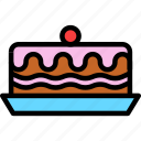cake, christmas, newyear icon