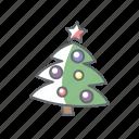 christmas, new year, tree, xmas