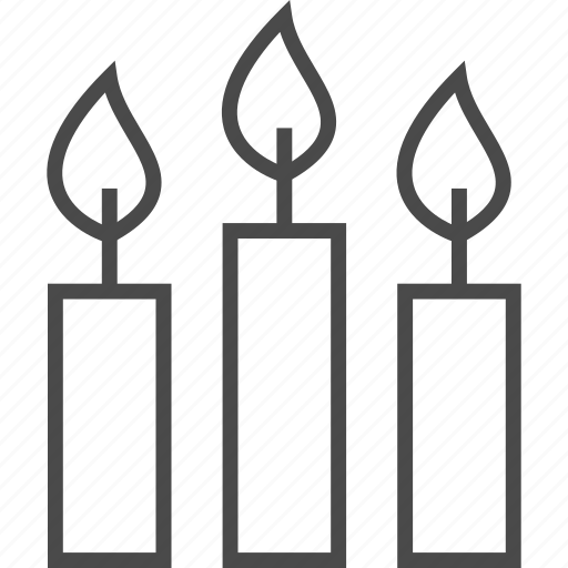 candle, celebrate, heat, holiday, light, lob, suppository icon