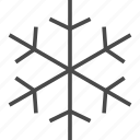 christmas, cold, merry, snow, snowflake, weather, winter icon