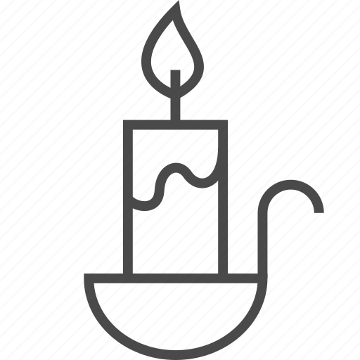candle, candlestick, heat, light, saint, suppository icon