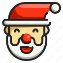santa, christmas, character, xmas, user, father, claus