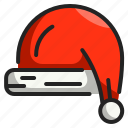 santa, christmas, character, xmas, user, hat, claus