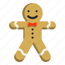 bakery, christmas, cookie, dessert, gingerbread, man, sweet