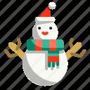 christmas, shapes, snow, snowman, winter, xmas