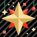 adornment, christmas, decoration, star, xmasg8vo