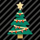 christmas, decoration, forest, pine, tree, xmas