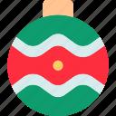 ball, celebration, christmas, decoration, holiday, ornament, seasonal icon