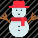 celebration, christmas, frost, holiday, seasonal, snow, snowman icon