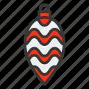 baubles, christmas, christmas ball, christmas ornament, light bulb, ornament icon